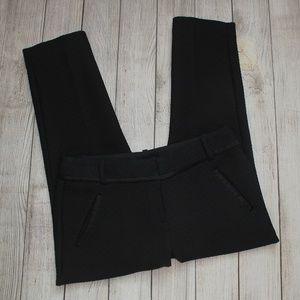 ANN TAYLOR LOFT Black Dress Pants 4P Marisa